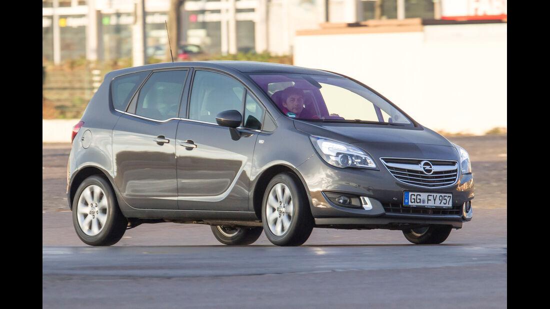 Opel Meriva 1.4 Selection, Seitenansicht