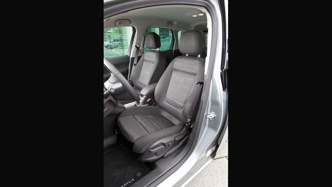 Opel Meriva 1.4 Turbo Fahrersitz