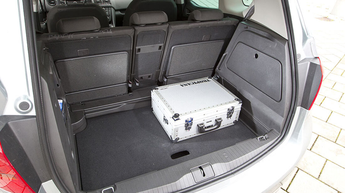 Opel Meriva 1.4 Turbo Kofferraum