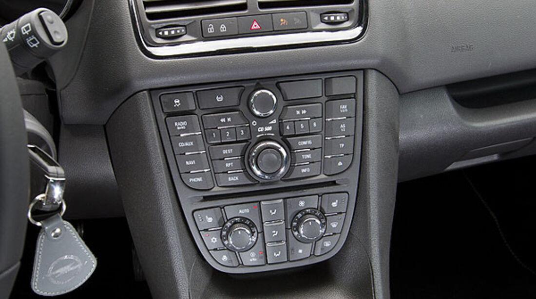 Opel Meriva 1.4 Turbo Konsole