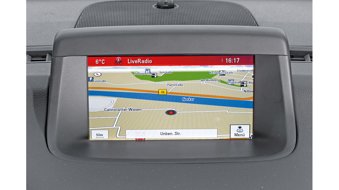 Opel Meriva 1.4 ecoFlex, Navi, Bildschirm