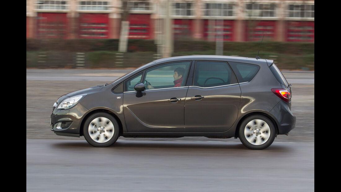 Opel Meriva 1.4 ecoFlex, Seitenansicht