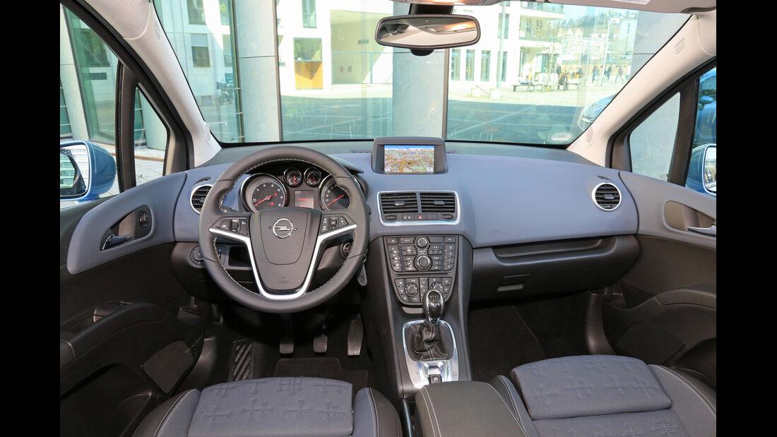 Opel Meriva 1.6 CDTI, Cockpit