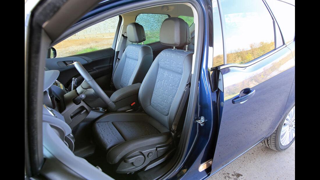Opel Meriva 1.6 CDTI, Fahrersitz