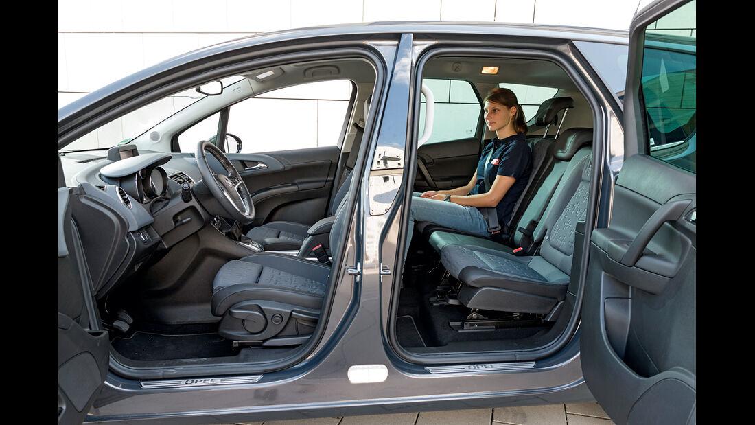 Opel Meriva 1.6 CDTI, Fondsitz, Fondtür