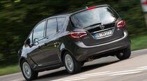 Opel Meriva 1.6 CDTI, Heckansicht