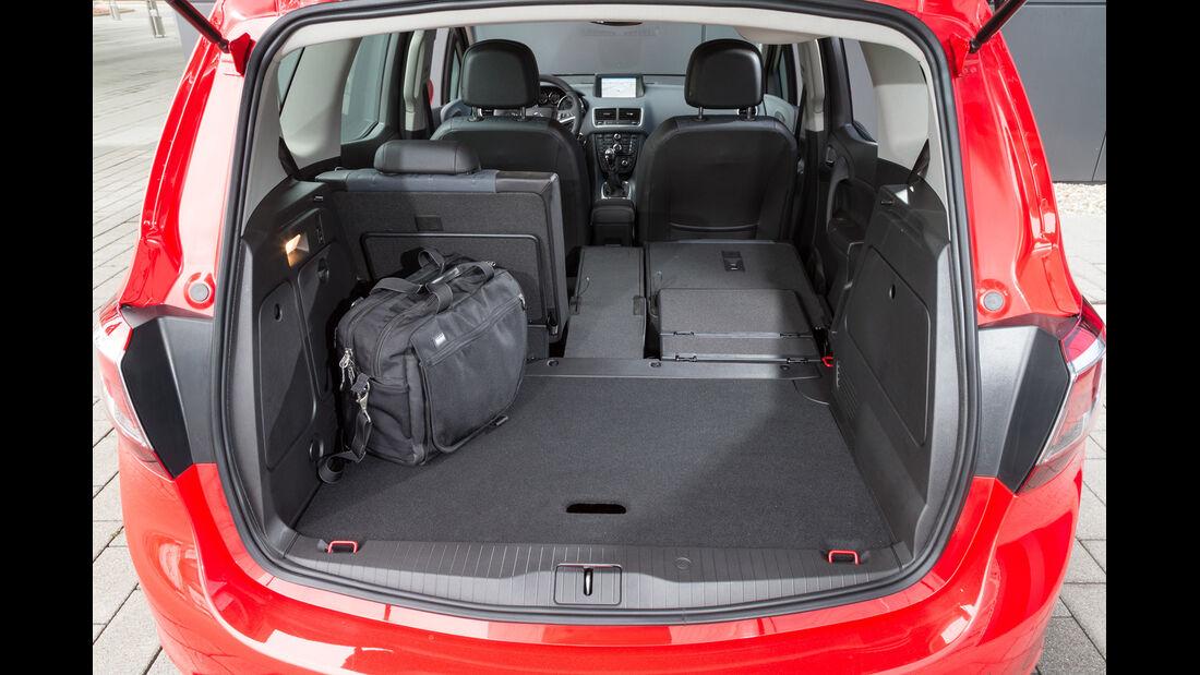Opel Meriva 1.6 CDTI, Kofferraum, Fondsitz umklappen