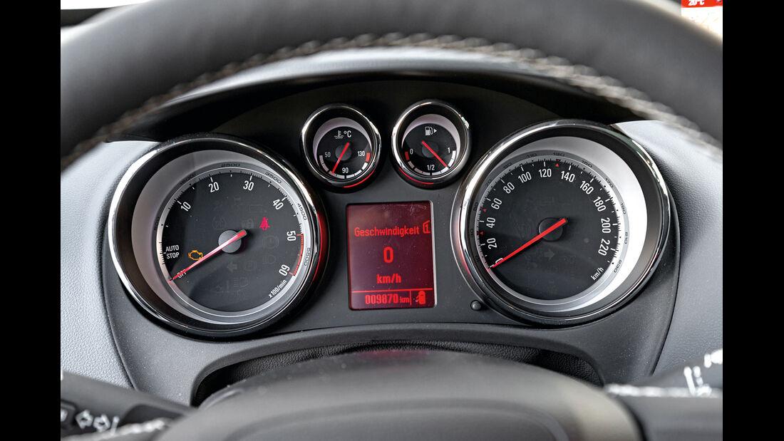 Opel Meriva 1.6 CDTI, Rundsinstrumente