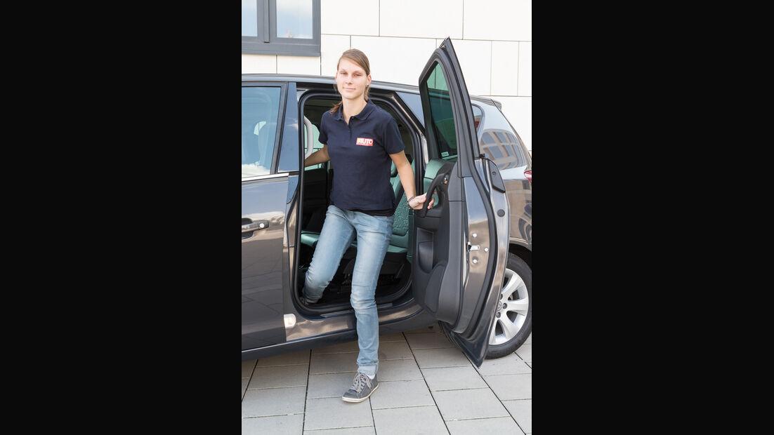 Opel Meriva 1.6 CDTI, Tür, Aussteigen