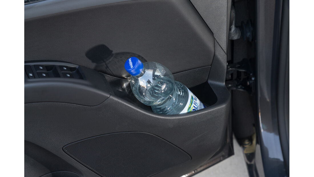 Opel Meriva 1.6 CDTI, Türfach