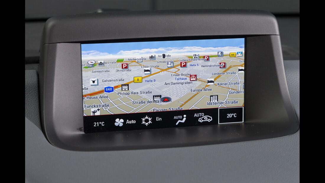 Opel Meriva 1.6 CDTi, Navi, Bildschirm
