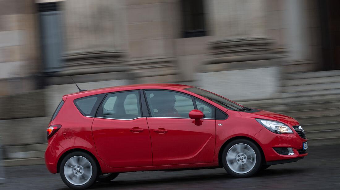 Opel Meriva 1.6 CDTi, Seitenansicht