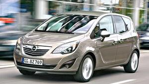 Opel Meriva B, Frontansicht