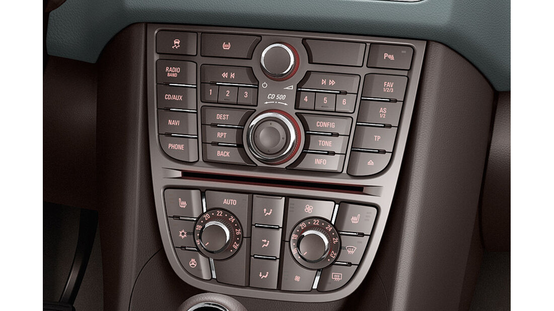Opel Meriva, Basis-Radio