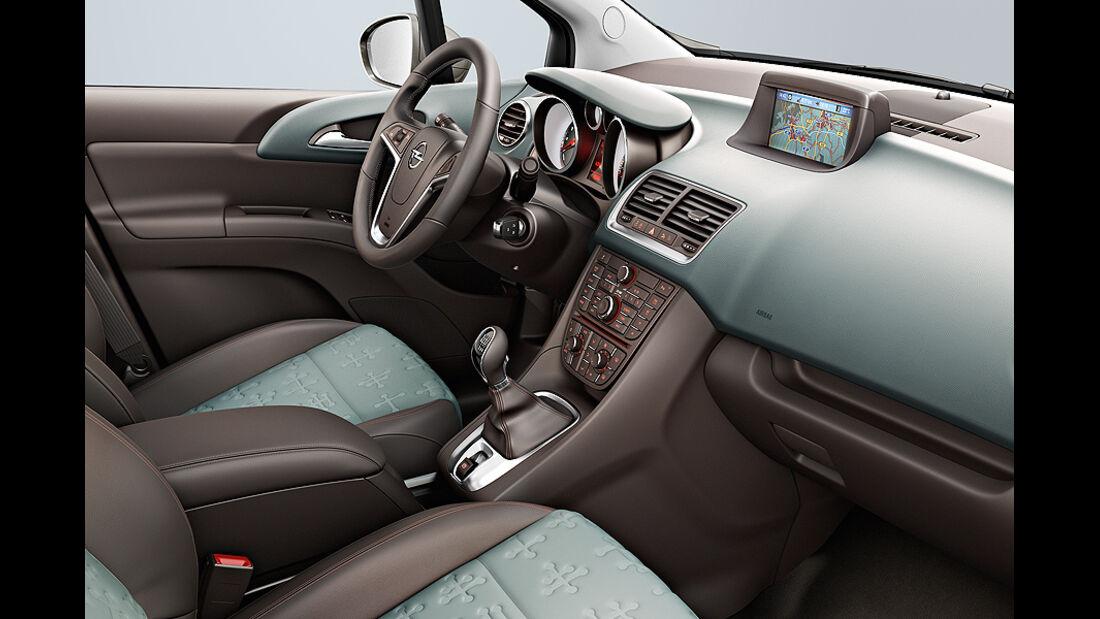 Opel Meriva, Cockpit Innovation