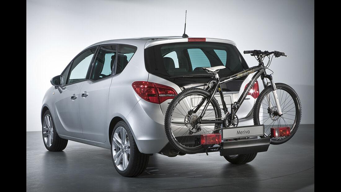 Opel Meriva, Fahrradanhänger