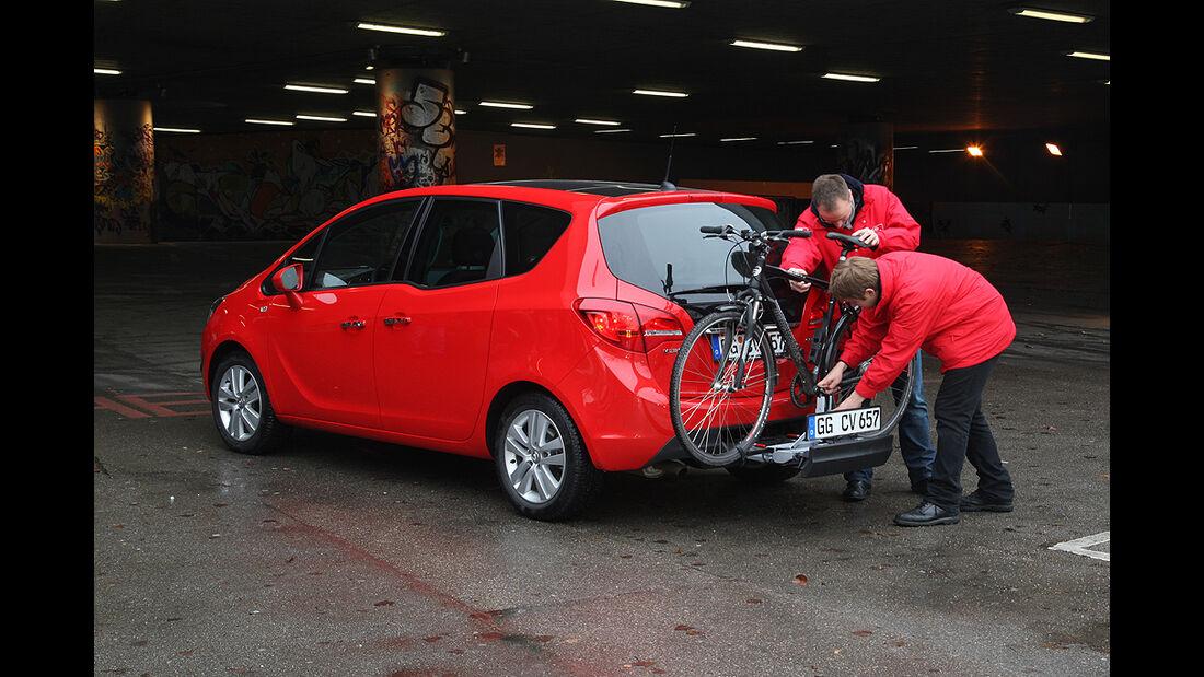 Opel Meriva, Fahrradträger