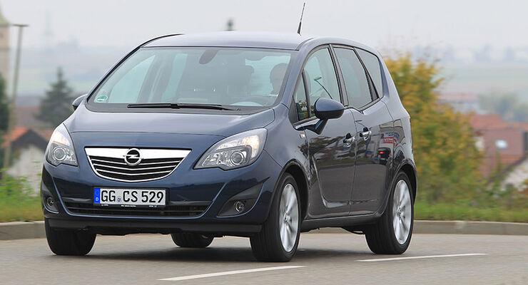 Opel Meriva Front