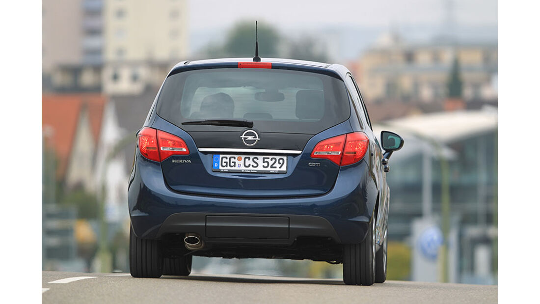 Opel Meriva Heck