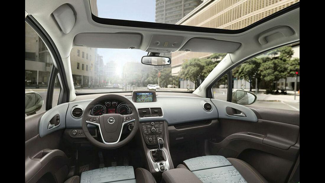 Opel Meriva Innenraum