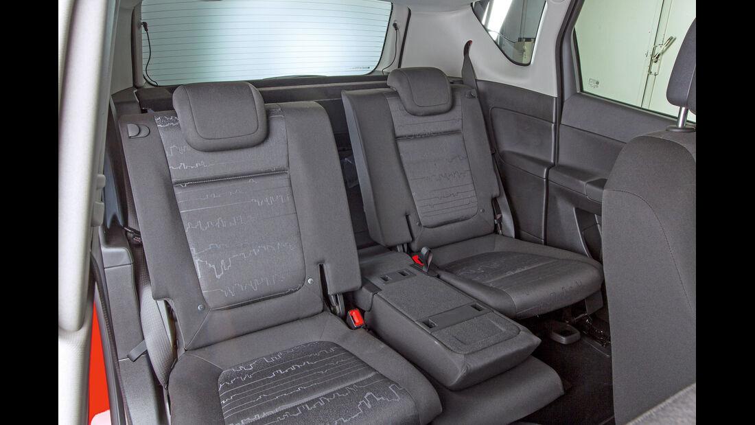 Opel Meriva, Kindersitz