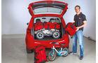 Opel Meriva, Kofferraum, Ladevolumen