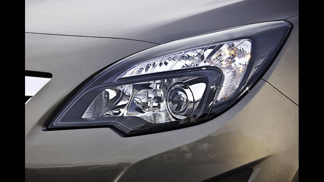 Opel Meriva, Kurvenlicht