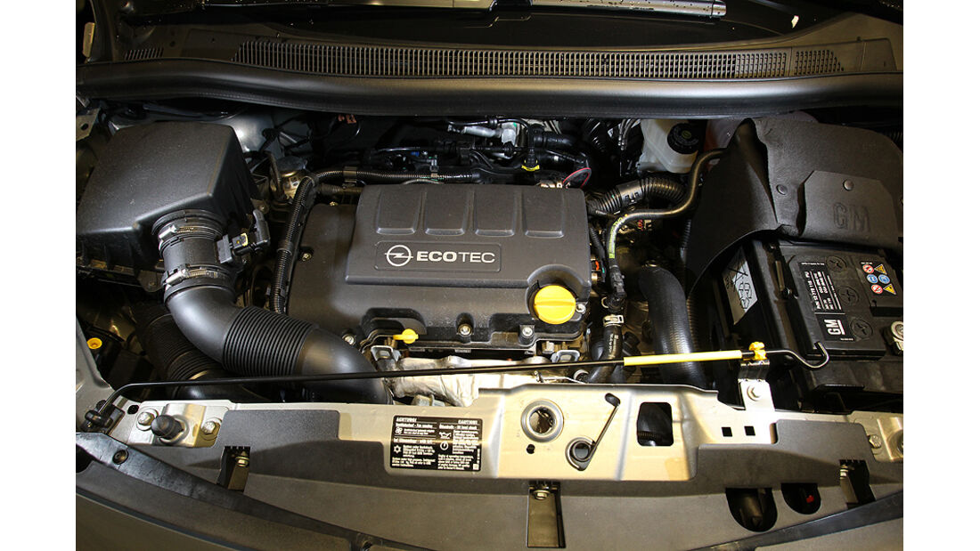 Opel Meriva, Motor 1.4 Turbo, 140 PS
