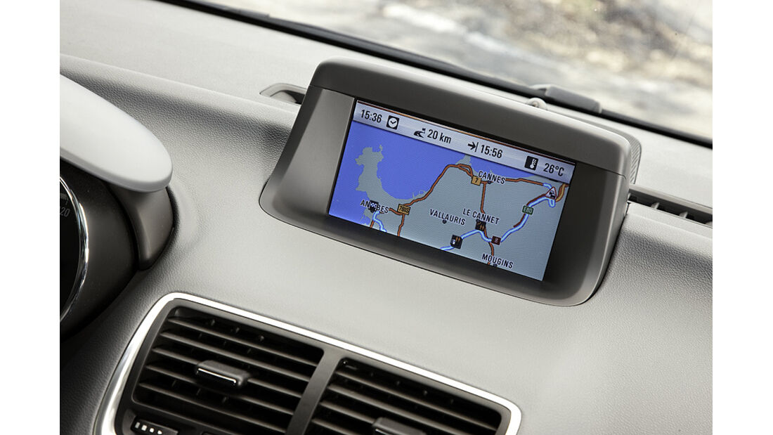 Opel Meriva, Navigationssystem