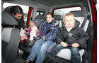 Opel Meriva, Rückbank, Kinder