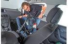 Opel Meriva, Rücksitz
