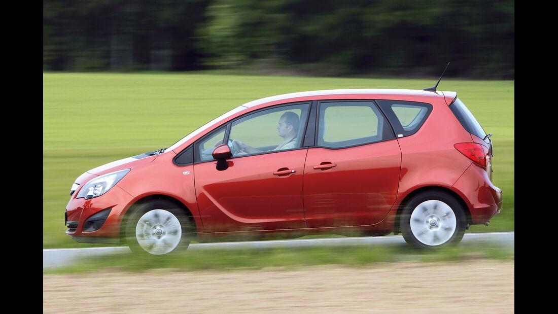 Opel Meriva, Seitenansicht