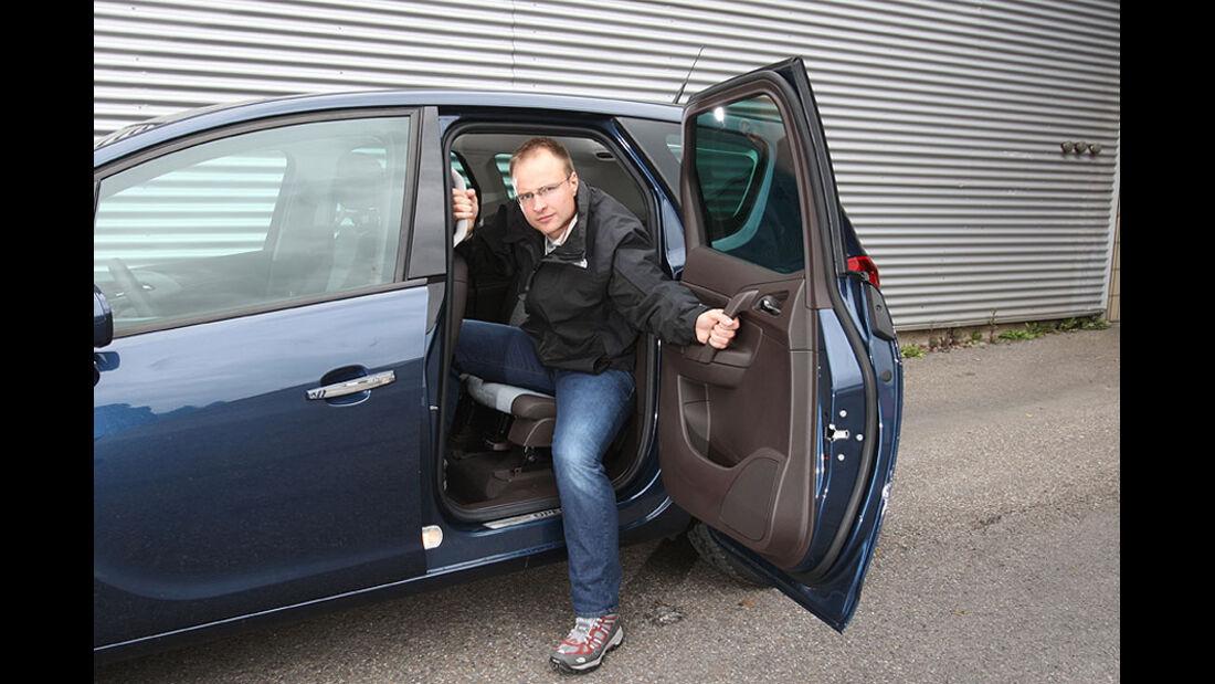 Opel Meriva Türe hinten