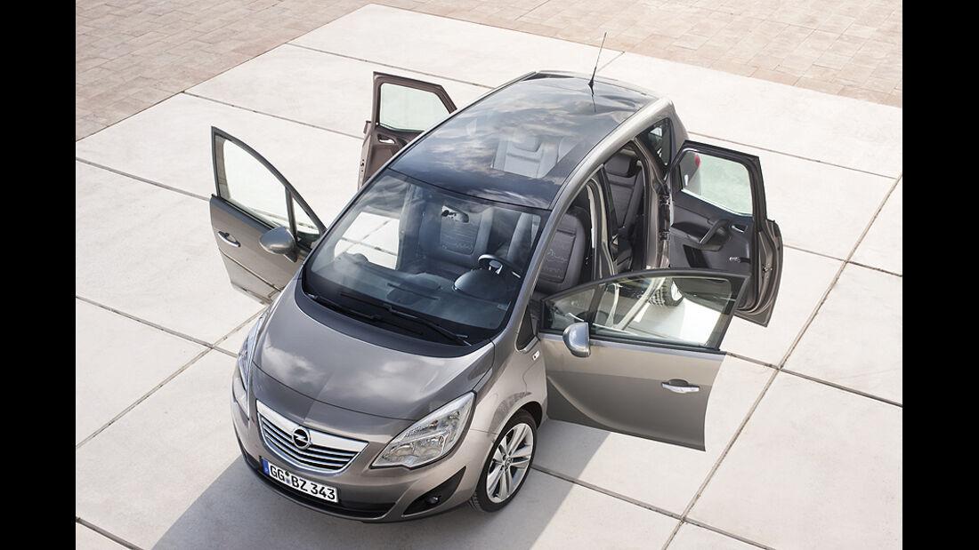 Opel Meriva, gegenläufige Türen
