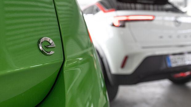 Opel Mokka 1.2 DI, Opel Mokka-e, Exterieur