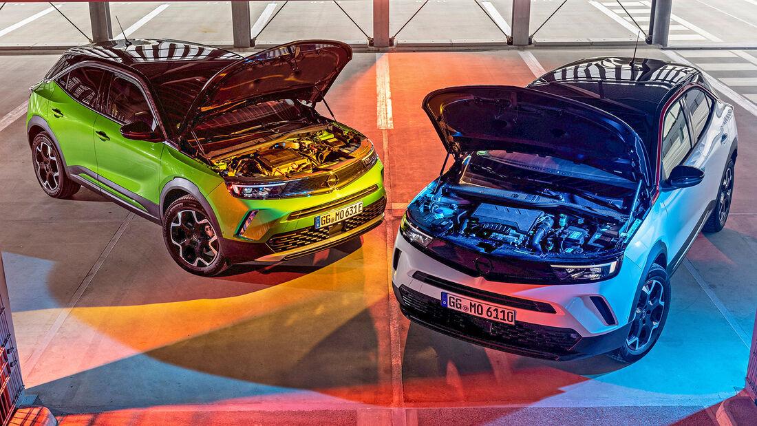 Opel Mokka 1.2 DI, Opel Mokka-e, Motor