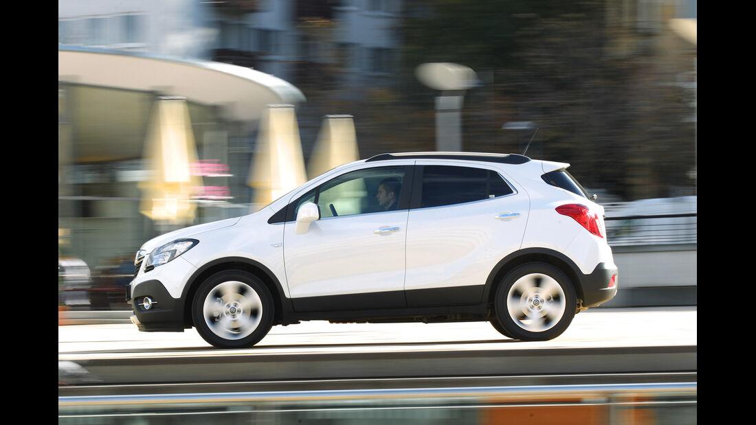 Opel Mokka 1.4 Turbo 4x4, Seitenansicht