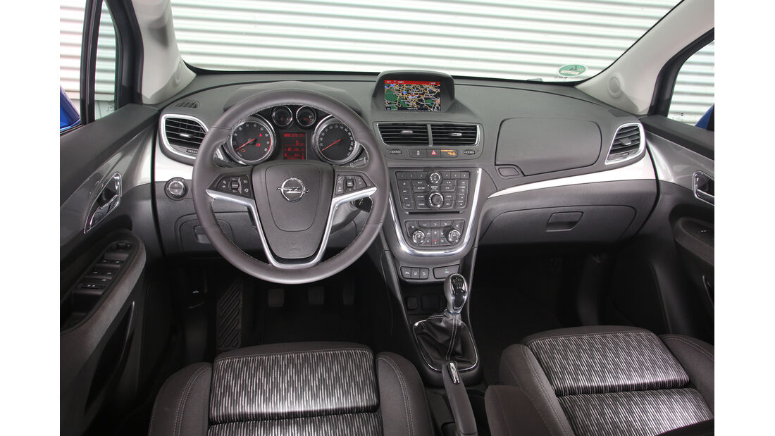 Opel Mokka 1.4 Turbo, Cockpit
