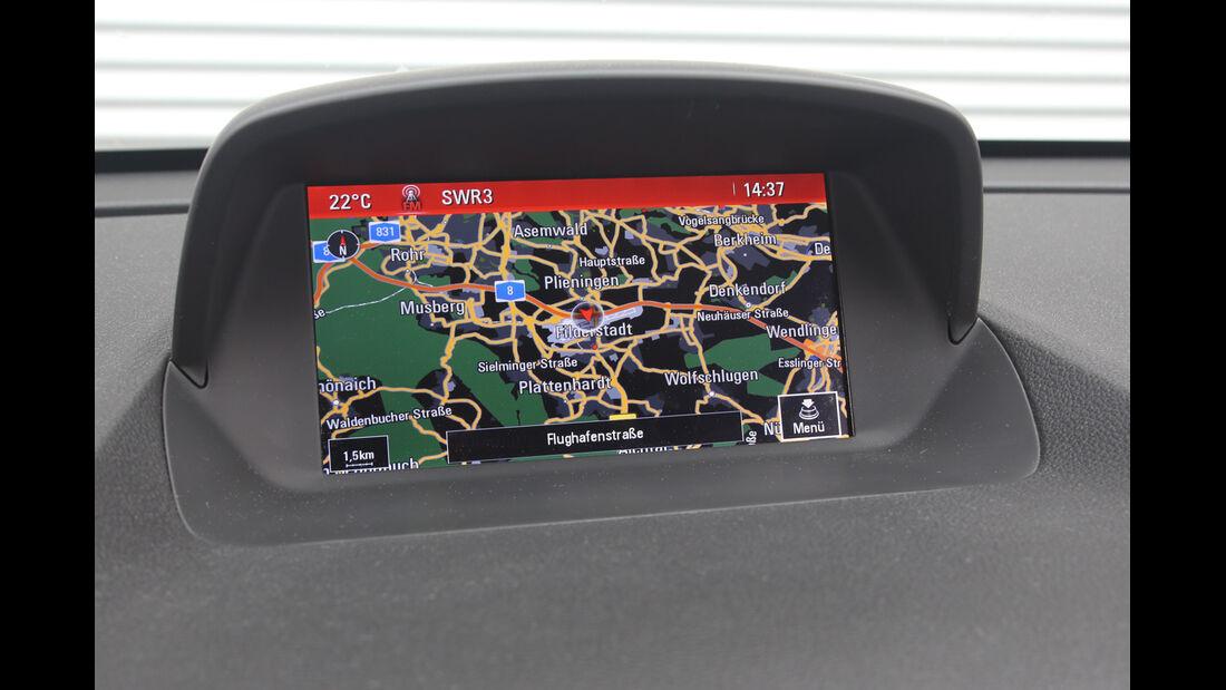 Opel Mokka 1.4 Turbo, Navi, Bildschirm