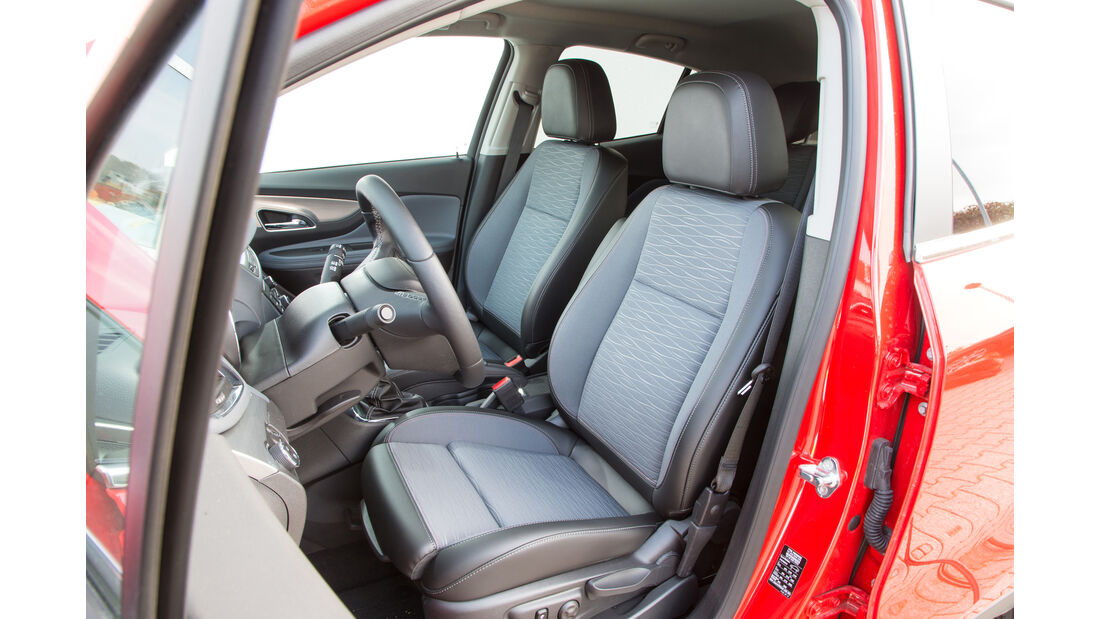 Opel Mokka 1.6 CDTI Ecoflex, Fahrersitz