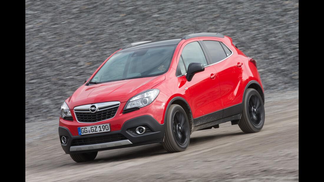 Opel Mokka 1.6 CDTI Ecoflex, Frontansicht