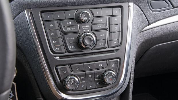 Opel Mokka 1.6 CDTI Ecoflex, Mittelkonsole