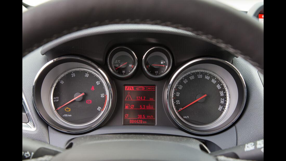 Opel Mokka 1.6 CDTI Ecoflex, Rundinstrumente