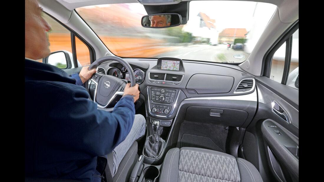 Opel Mokka 1.6 Edition, Cockpit, Fahrer