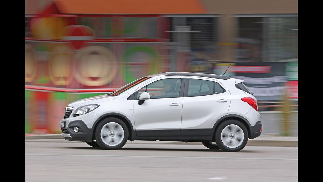 Opel Mokka 1.6 Edition, Seitenansicht