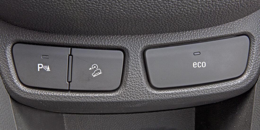 Opel Mokka 1.7 CDTi, Bedienelemente