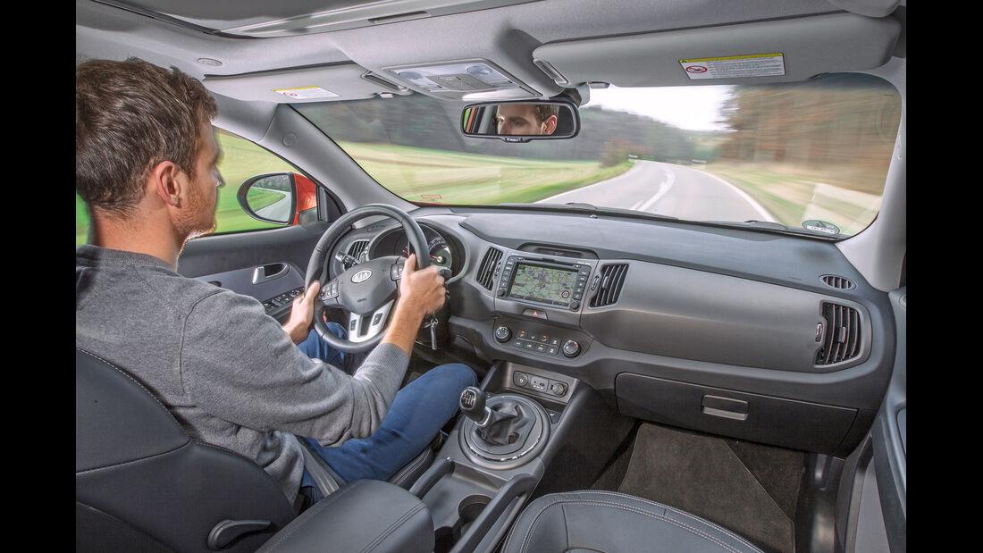 Opel Mokka 1.7 CDTi, Cockpit