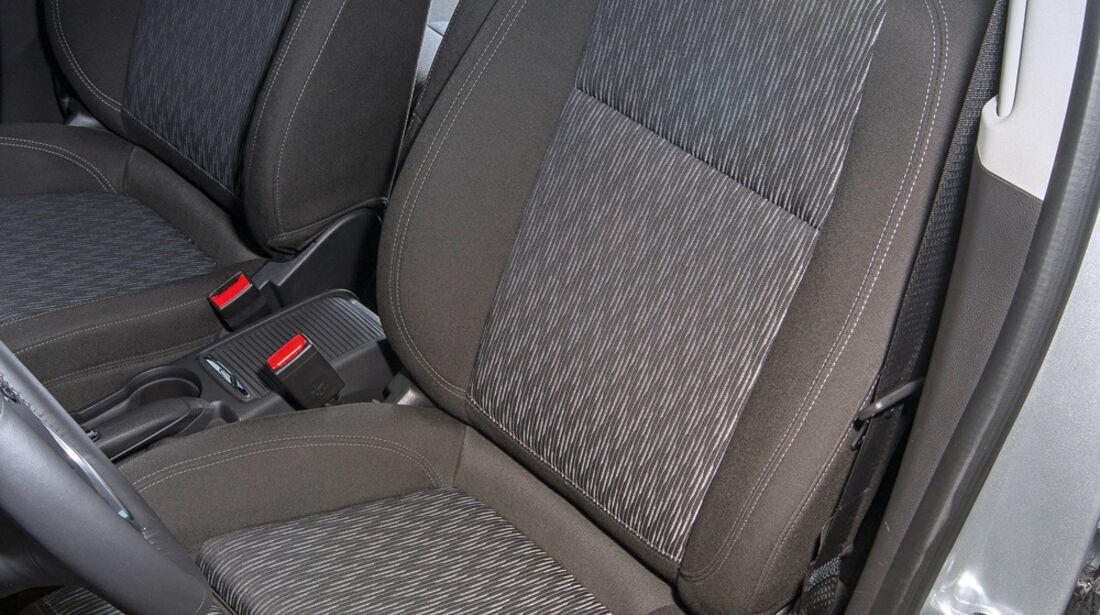 Opel Mokka 1.7 CDTi, Fahrersitz