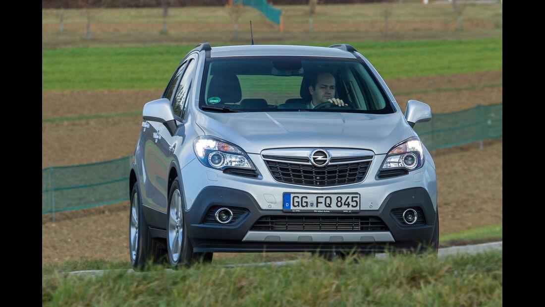 Opel Mokka 1.7 CDTi, Frontansicht