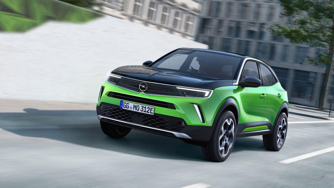 Opel Mokka 2021 SPERRFRIST